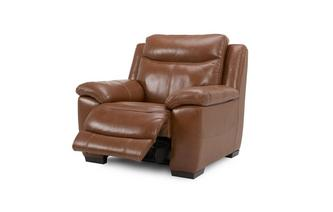 Leather and Leather Look Manual Recliner Chair