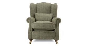 Loch Leven Harris-Tweed Wing Chair