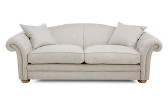 Grand Pillow Back Sofa Meadow Plain