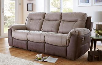 Logan 3 Seater Manual Recliner Arizona