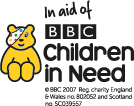 In aid of BBC Children in Need - copyright BBC 2007 Reg charity England and Wales number 802052 and Scotland number SC039557
