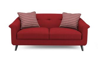 Plain and Pattern Midi Sofa Louvre Plain and Pattern