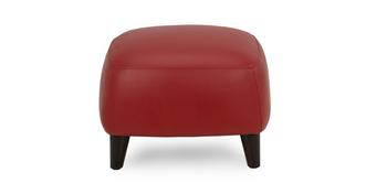 Louvre Leather Footstool