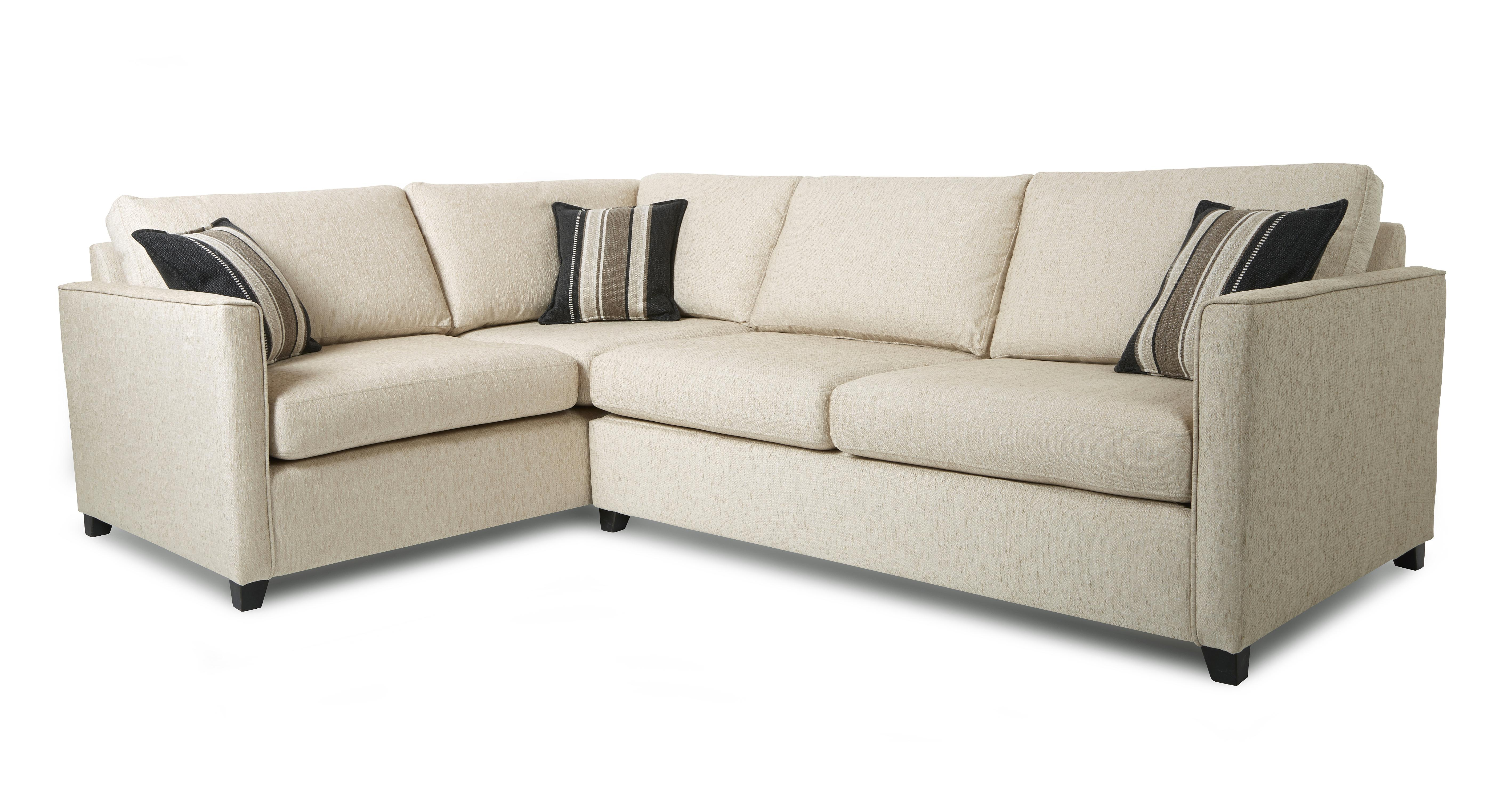 Lucia right arm facing corner sofa dfs for Sofa with only one arm