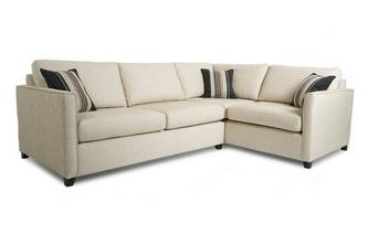 Left Arm Facing Corner Deluxe Sofa Bed Lucia