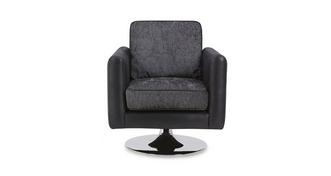 Luna Plain Small Swivel Chair