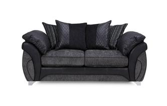 Large 2 Seater Pillow Back Sofa Luna