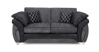 Luna Large 2 Seater Formal Back Deluxe Sofa Bed