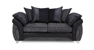 Luna Large 2 Seater Pillow Back Deluxe Sofa Bed