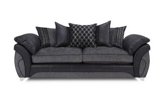 4 Seater Pillow Back Sofa Luna