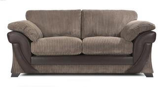 Lush Large 2 Seater Formal Back Sofa