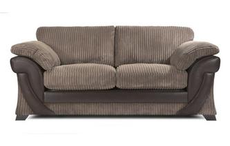 Large 2 Seater Formal Back Deluxe Sofabed Chantilly