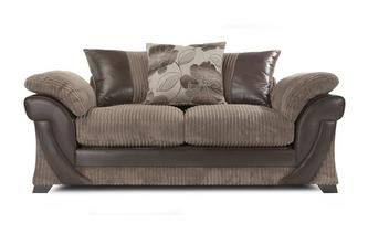 Large 2 Seater Pillow Back Deluxe Sofabed Chantilly