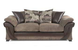 3 Seater Pillow Back Sofa Chantilly