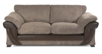 Lush 3 Seater Formal Back Deluxe Sofabed