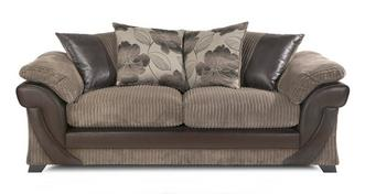 Lush 3 Seater Pillow Back Deluxe Sofabed