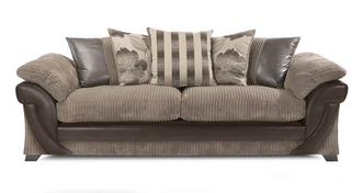 Lush 4 Seater Pillow Back Sofa