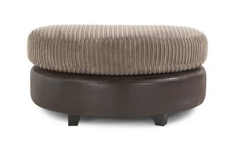 Half Moon Footstool Chantilly