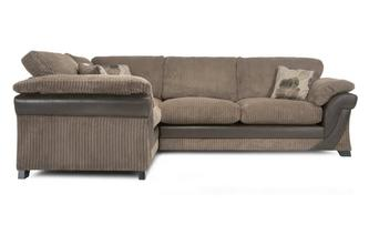 Right Hand Facing 2 Seater Formal Back Corner Sofa