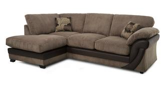 Lush Right Arm Facing Open End Formal Back Corner Deluxe Sofabed
