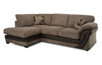 Right Arm Facing Open End Formal Back Corner Deluxe Sofabed Chantilly