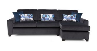 Lustre Right Hand Facing Chaise End 3 Seater Sofa