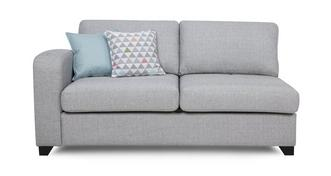 Lydia Left Hand Facing 1 Arm 3 Seater Deluxe Sofa Bed