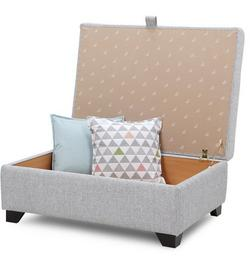 Lydia: Large storage footstool