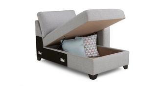 Lydia Right Hand Facing 1 Arm Storage Chaise Unit