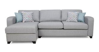 Lydia Left Hand Facing Chaise End 3 Seater Deluxe Sofa Bed