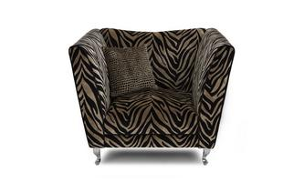 Tiger Pattern Armchair Madagascar