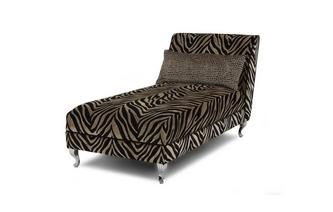 Tiger Pattern Chaise Longue