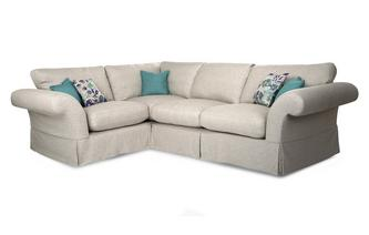 Plain Right Hand Facing 3 Seater Corner Sofa Malvern Plain