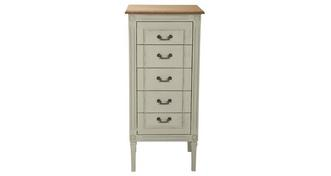 Mandalay Tall 5 Drawer Chest