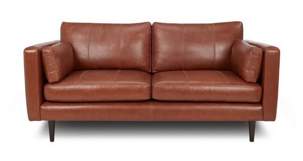 leather Marl leather sofa