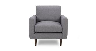 Marl Fabric Armchair