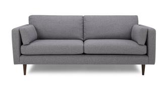 Marl Fabric Large Sofa