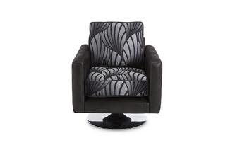 Pattern Swivel Chair Matinee