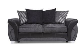 Large 2 Seater Pillow Back Deluxe Sofa Bed Matinee