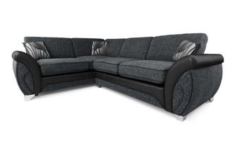 Right Hand Facing 3 Seater Formal Back Corner Sofa Matinee