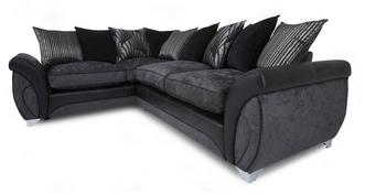 Matinee Right Hand Facing 3 Seater Pillow Back Corner Sofa