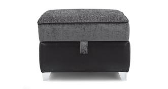Matinee Plain Top Storage Footstool