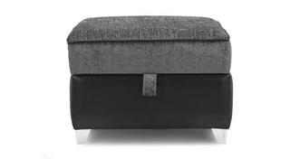 Matinee Patterned Top Storage Footstool
