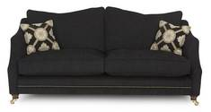 4 Seater Plain Pillow Back Sofa Medallion