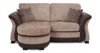 Merida 2 Seater Formal Back Lounger