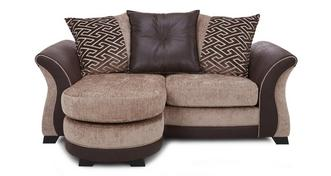 Merida 2 Seater Pillow Back Lounger