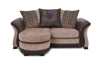 2 Seater Pillow Back Lounger Merida
