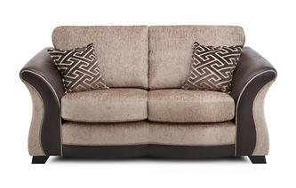 Small 2 Seater Formal Back Sofa Merida