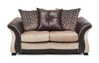 Small 2 Seater Pillow Back Sofa Merida