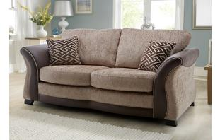 Merida Large 2 Seater Formal Back Deluxe Sofa Bed Merida